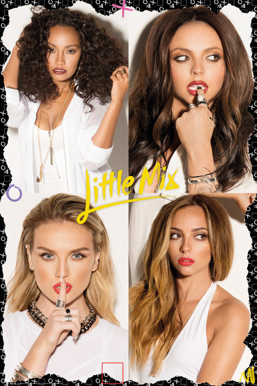 Little Mix Squares  Maxi Poster