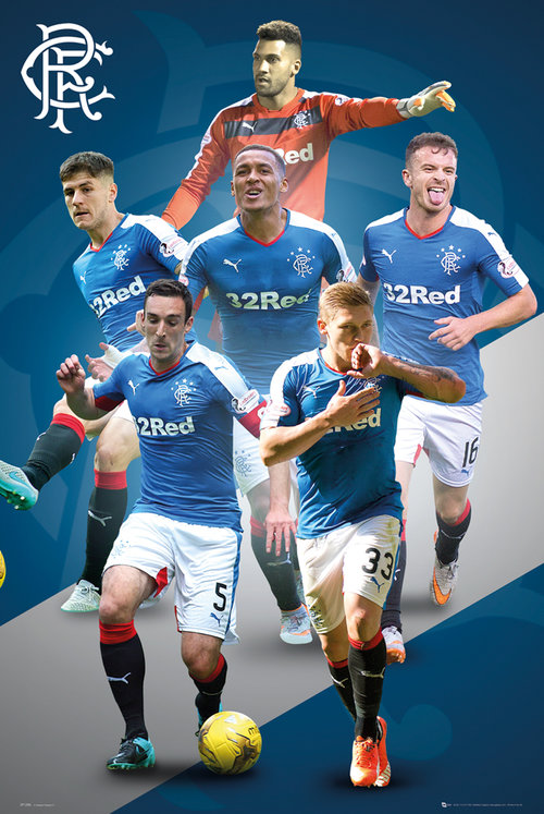 Rangers Players 15/16 Maxi Poster