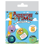 Adventure Time Pin Badges 5-Pack Bro Hug