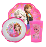 Frozen Breakfast Set Melamine Petal