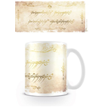Lord of the Rings Mug Ring Inscription