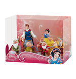 Snow White and the Seven Dwarfs Gift Box with 9 Figures Deluxe