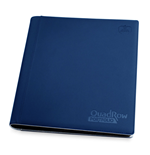 Ultimate Guard 12-Pocket QuadRow Portfolio XenoSkin Dark Blue