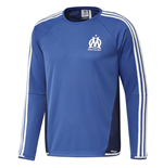2015-2016 Marseille Adidas EU Training Top (Blue)