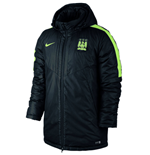 2015-2016 Man City Nike Medium Fill Jacket (Black)
