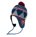 SUPERMAN Laplander Pom Winter Hat