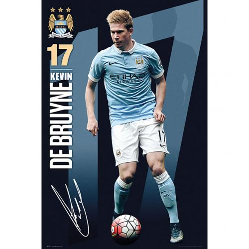 Manchester City F.C. Poster De Bruyne 55