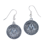 Harry Potter Ministry of Magic Earrings (silver plated)
