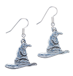 Harry Potter Sorting Hat Earrings (silver plated)