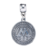Harry Potter Charm Ministry of Magic (silver plated)