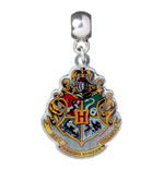 Harry Potter Charm Hogwarts Crest (silver plated)