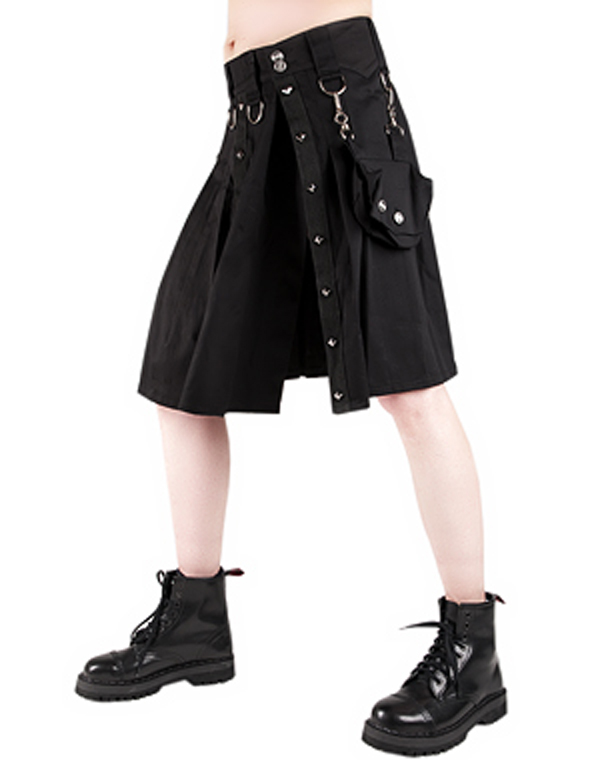 Aderlass Ring Kilt Denim