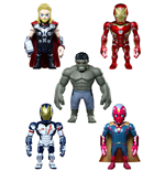Avengers Age of Ultron Artist Mix Bobble-Heads Series 2 Deluxe Set 13 cm