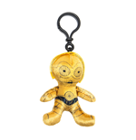 Star Wars Episode VII Plush Keychain C-3PO 8 cm