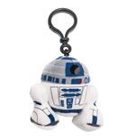 Star Wars Episode VII Plush Keychain R2-D2 8 cm