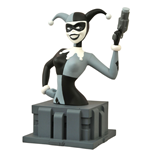 Batman The Animated Series Bust Almost Got 'Im Harley Quinn Black & White NYCC 2015 Exclusive 15 cm