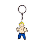 Fallout 4 Rubber Keychain Strength Skill