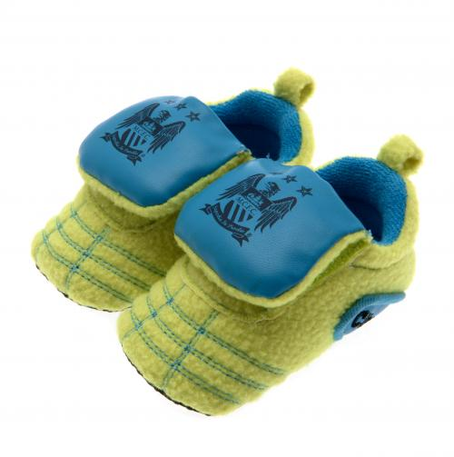 Manchester City F.C. Neon Boot Crib 3/6