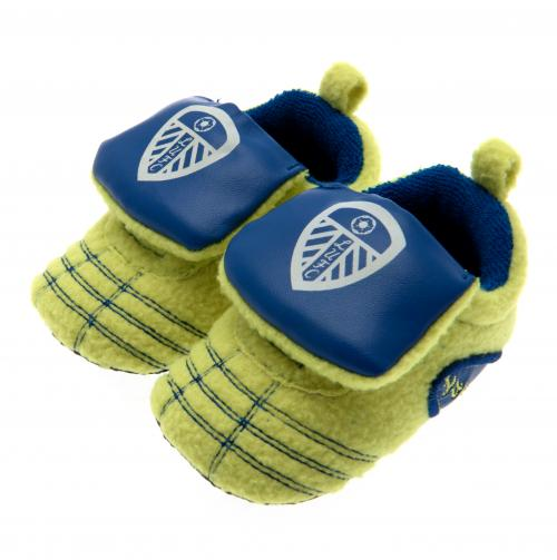 Leeds United F.C. Neon Boot Crib 3/6