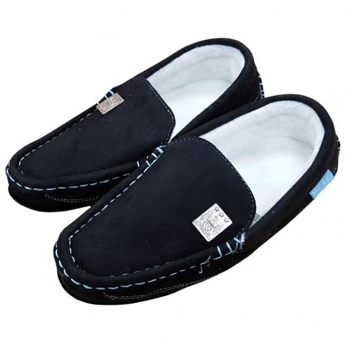 Manchester City F.C. Moccasins Mens 9/10 BLK