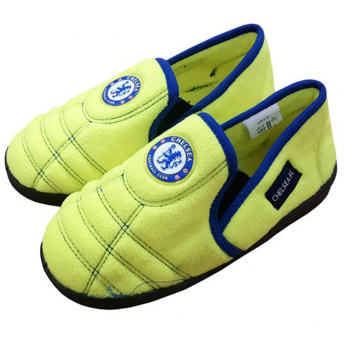 Chelsea F.C. Neon Slippers Junior 1/2