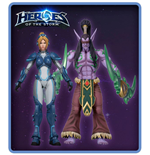 Heroes of the Storm Action Figures 18 cm Series 1 Assortment (8)