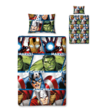 The Avengers Duvet Set Reversible Rotary Shield 135 x 200 cm / 48 x 74 cm