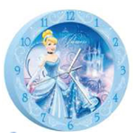 Cinderella Wall clock 179549
