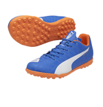Puma evoSPEED 5.4 Astroturf Trainers (Electric Blue-White)