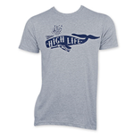 MILLER High Life Men's Gray Whale T-Shirt