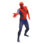 MARVEL COMICS Spider-Man Adult Unisex Basic Cosplay Costume Morphsuit, Extra Large, Multi-Colour