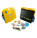 MINIONS Double-Sided Art Easel with 31 Piece Creative Activity Set