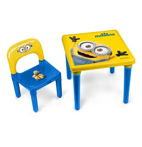 MINIONS My First Activity Table/Chair Set with 30 Piece Creative Activity Set  sc 1 st  MerchandisingPlaza & MINIONS My First Activity Table/Chair Set with 30 Piece Creative ...