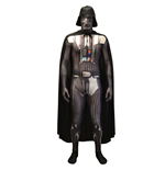 STAR WARS Darth Vader Adult Unisex Zapper Cosplay Costume Digital Morphsuit, Extra Large, Multi-Colour
