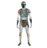 STAR WARS Boba Fett Adult Unisex Zapper Cosplay Costume Digital Morphsuit, Medium, Multi-Colour