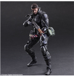Metal Gear Solid V The Phantom Pain Play Arts Kai Action Figure Venom Snake Sneaking Suit Ver. 27 cm