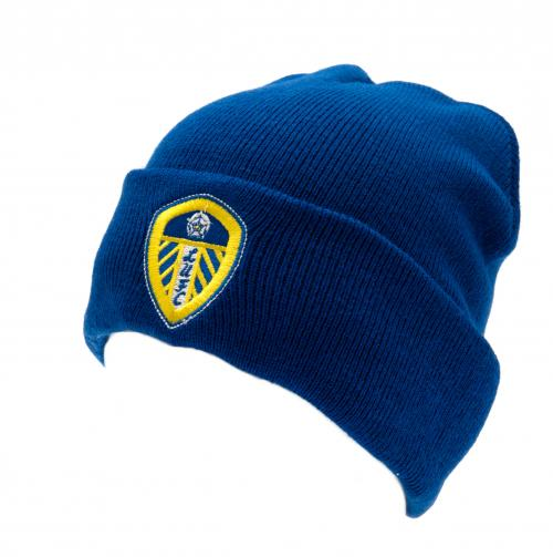 Leeds United F.C. Knitted Hat TU BL