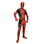 MARVEL COMICS Deadpool Adult Unisex Cosplay Costume Morphsuit, Large, Multi-Colour