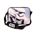 STAR WARS VII The Force Awakens Distressed Stormtrooper Messenger Bag, Black