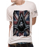 Assassin's Creed Syndicate T-Shirt Flag White
