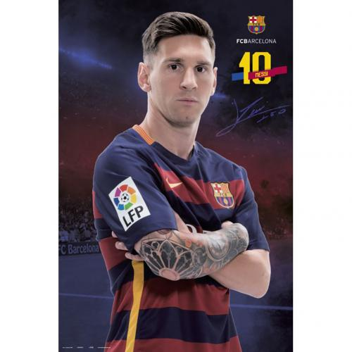 F.C. Barcelona Poster Messi 71