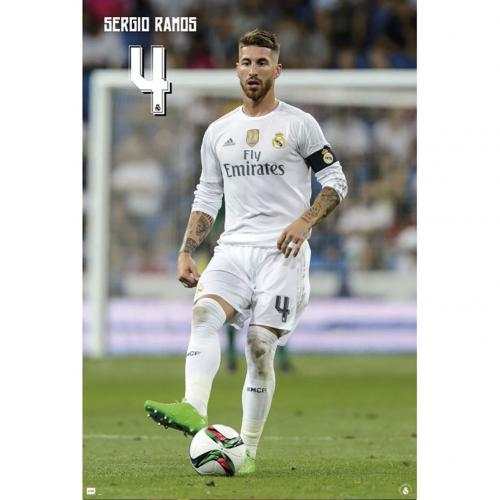 Real Madrid F.C. Poster Ramos 112