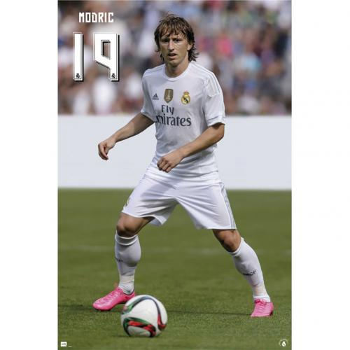 Real Madrid F.C. Poster Modric 52
