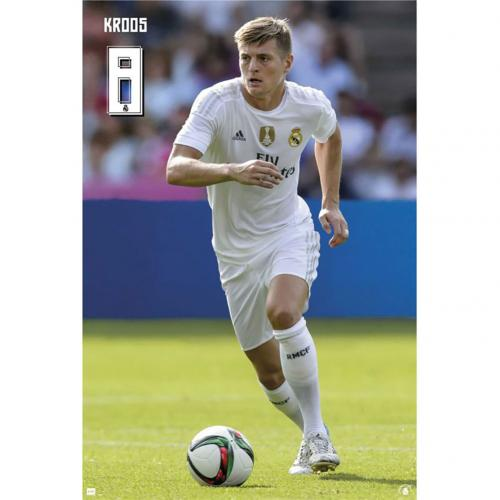 Real Madrid F.C. Poster Kroos 60