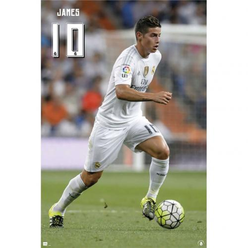 Real Madrid F.C. Poster James 50