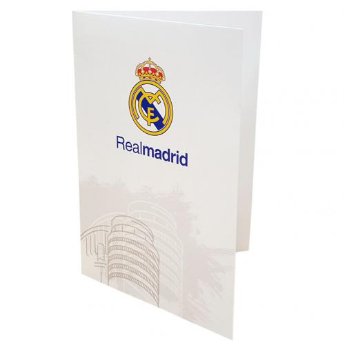 Real Madrid F.C. Greetings Card WT