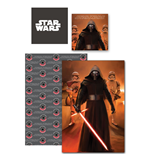 Star Wars Episode VII Duvet Set Reversible Kylo Ren II 135 x 200 cm / 80 x 80 cm