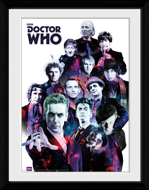 Doctor Who Cosmos Framed Collector Print