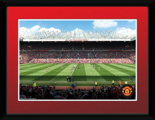 Manchester United Stadium 15/16 Framed Collector Print