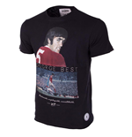 George Best United T-Shirt (Black)